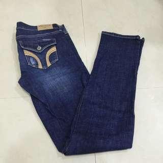 Hollister直筒牛仔褲