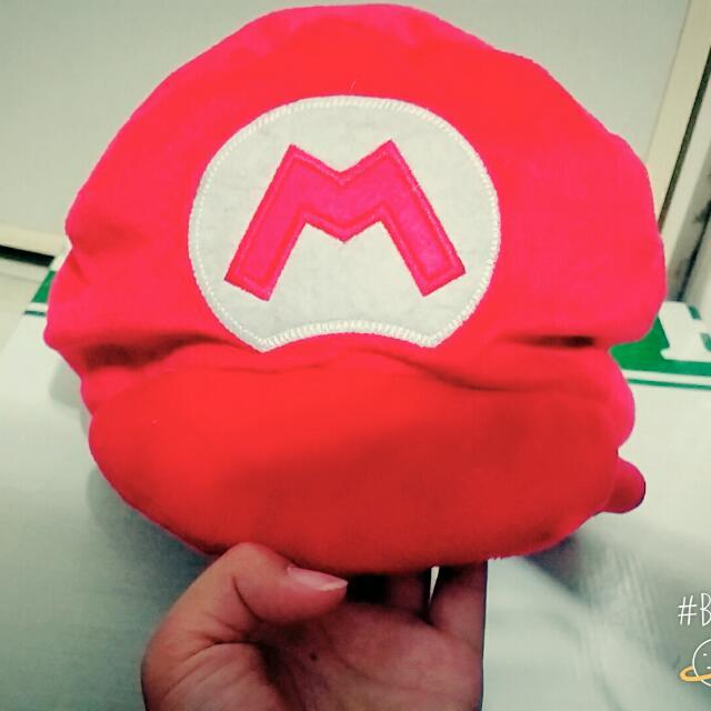 馬力歐帽(紅)