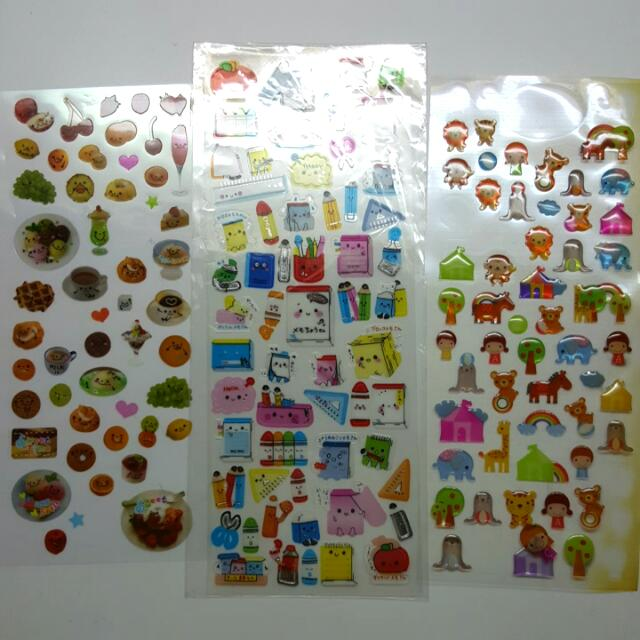 各式可愛日本貼紙 卡通貼紙 漂亮貼紙 透明貼紙