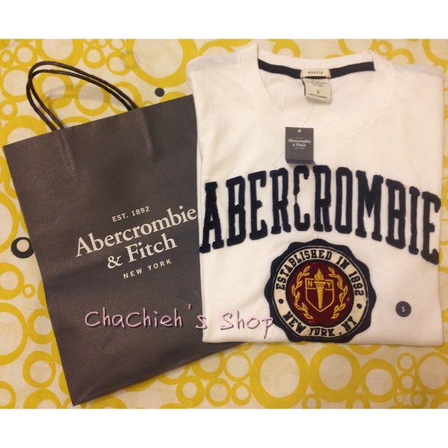 🇺🇸 (現貨) 全新 A&F Abercrombie & Fitch 經典仿舊圖騰 短