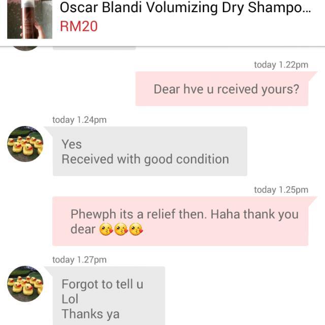 Customer Feedback 😘