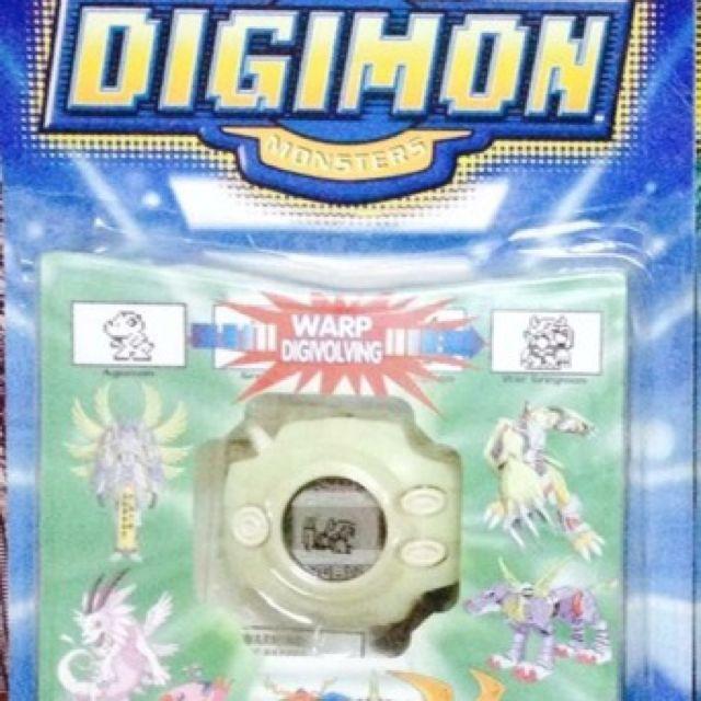 Digimon Digivice D2 Glow In The Dark