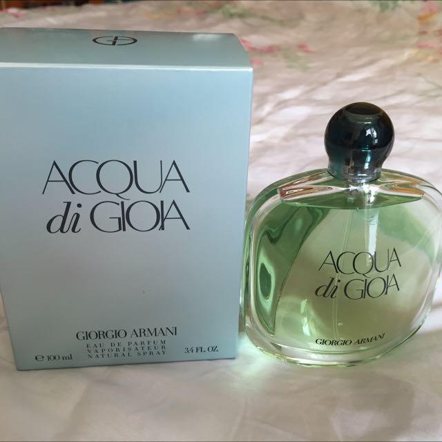 「保留中」GIOGRIO ARMANI海藍寄情女性淡香水 (100ml)