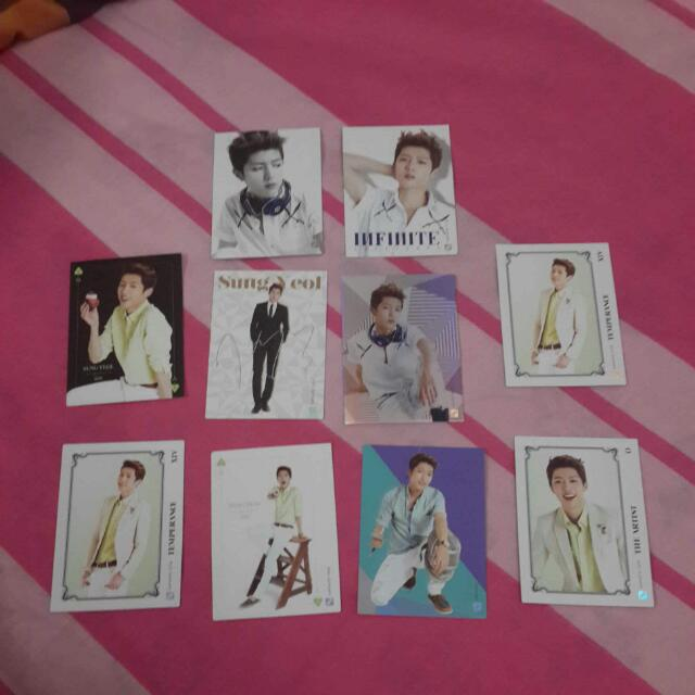 Infinite Collection Cards Volume 1: Sungyeol