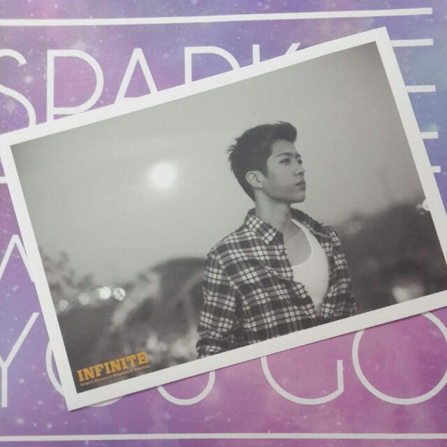 [REDUCED] Infinite IDEA Photobook Postcard: Sungyeol