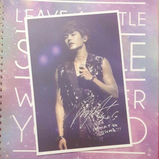 Infinite That Summer 2012 DVD Photocard: Hoya