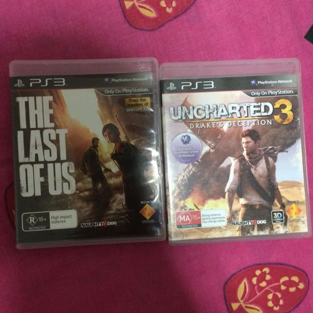 NAUGHTY DOG DOUBLE PACK