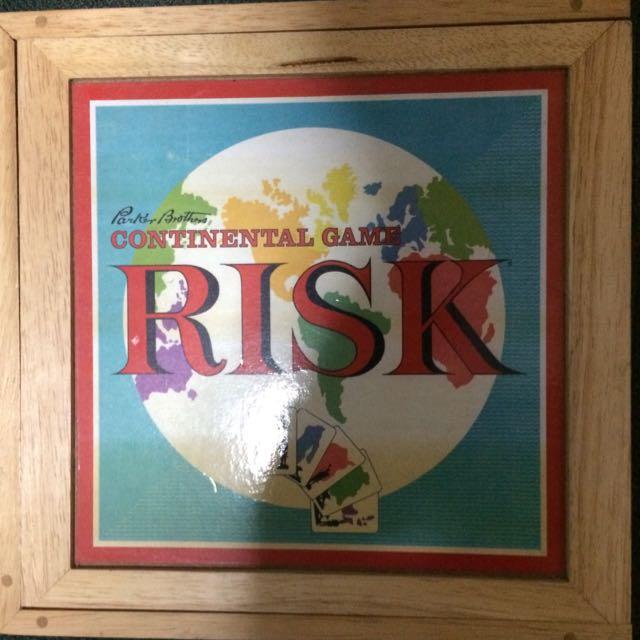 Risk Parker Bros Edition Board Game