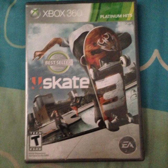 739f630a9 Skate 3 (Xbox 360), Toys & Games on Carousell