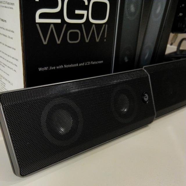 Sonicgear 2GO WOW Speaker
