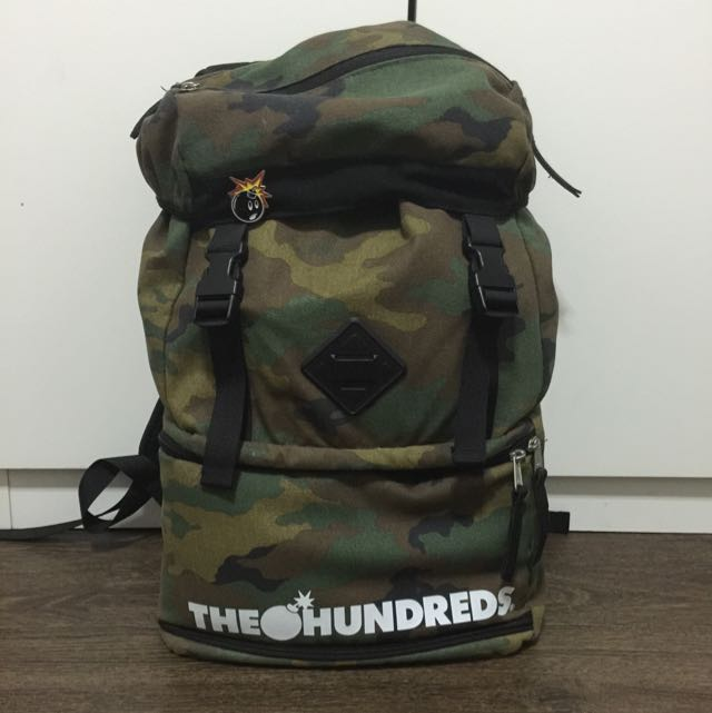 The Hundreds Steven Backpack (Camo), Photography