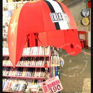 """全新"""" 安全帽kuso造型傘"""