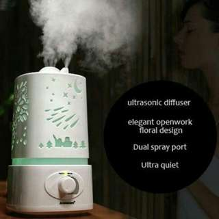 Pre-order Led lights  Aroma Humidifier Aromatherapy Air Purifier Mist