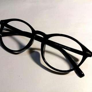 造型眼鏡 黑框