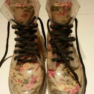防水雨靴  37號