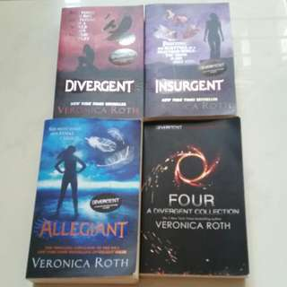 🚚 Veronica Roth - Divergent Complete (Inclusive Of Four)