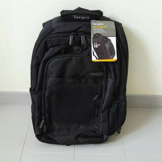 """Brand New: Targus 15.6"""" City Fusion Laptop Backpack"""