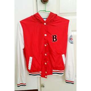 全新防風材質棒球外套