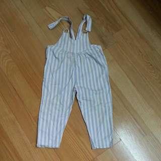 可愛吊帶褲