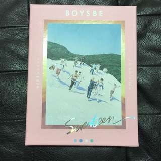 SEVENTEEN BOYS BE HIDE VERSION ALBUM