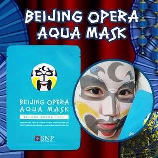 韓國SNP最新HOT北京歌劇保濕面膜