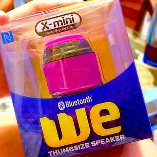 BNIB X-mini we Thumbsize Bluetooth Speaker