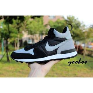 現貨 NIKE INTERNATIONALIST MID 黑灰 Shadow配色