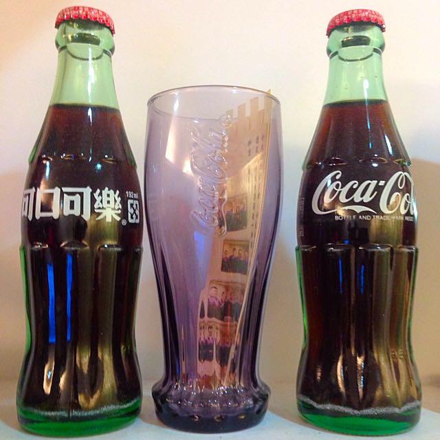可口可樂🇺🇸一直放在家裡的擺設!只有2支!2005年和2006年~可議價