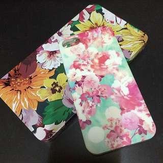 (降!!)iPhone絢爛花朵手機殼