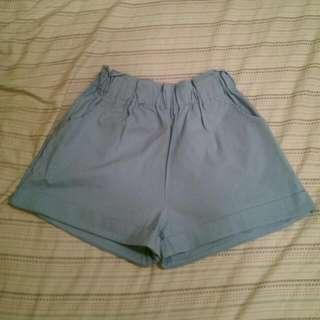 全新Pazzo俏皮鬆緊寬管短褲M號