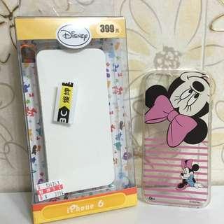 迪士尼授權-條紋米妮iPhone6保護套