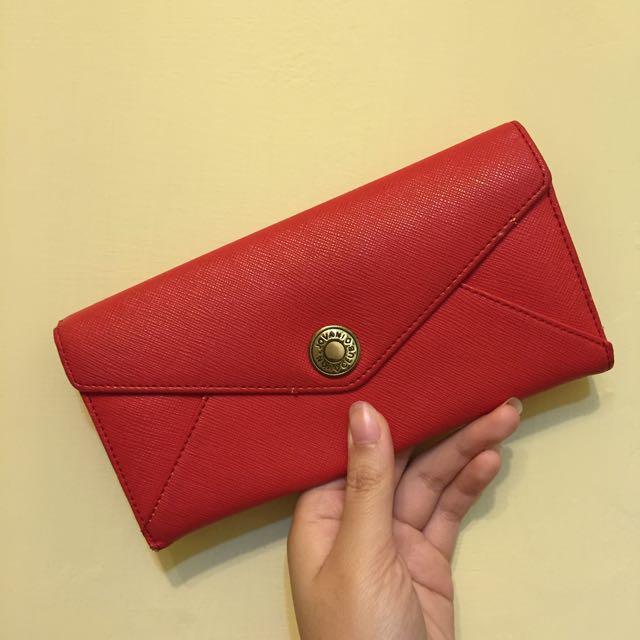 紅色信封皮夾