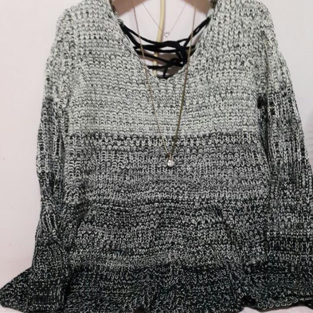∑゛針織甜美風格上衣