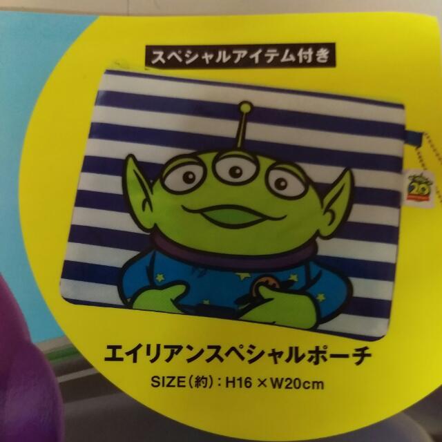 玩具總動員 三眼怪 化妝包 收納包 隨身包 筆袋
