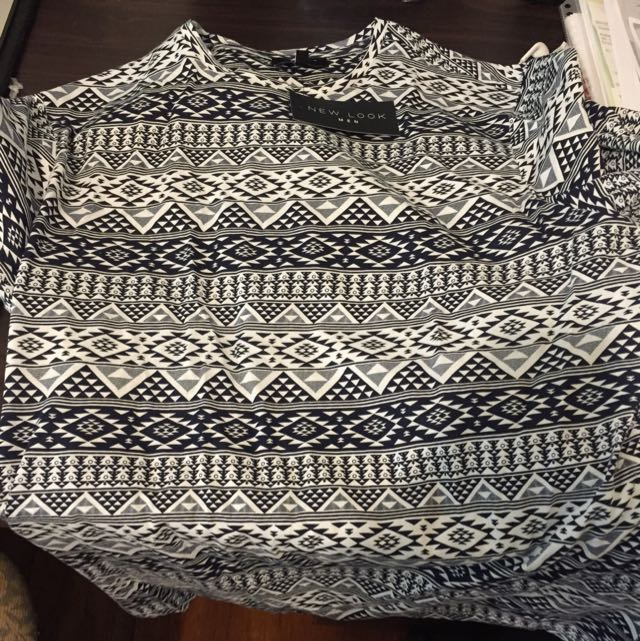 Aztec Print Tshirt Brand New With Tags