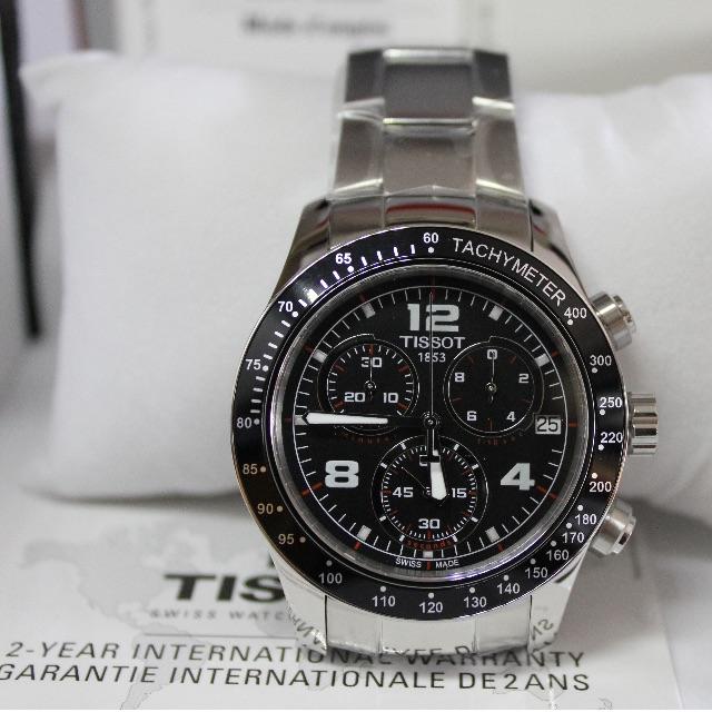 Bnib Tissot V8 Chrono Quartz Men S Watch T039 417 11 057 02 Men S