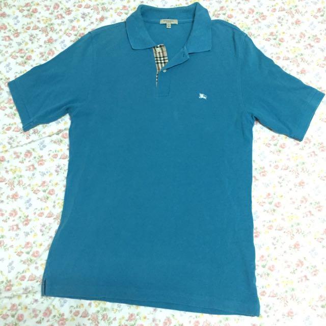 二手Burberry Polo衫 (台南新天地購買)