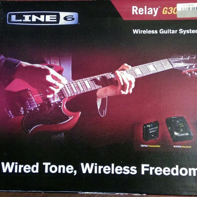 Line 6 G30 吉他無線系統