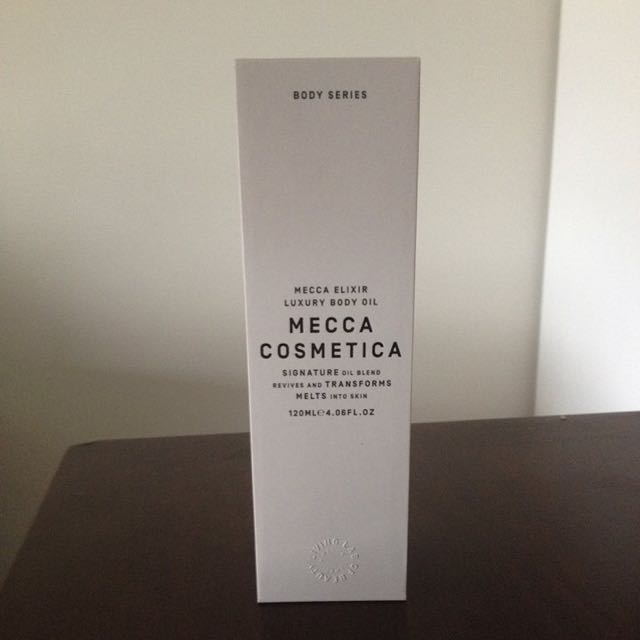 Mecca Elixir Luxury Body Oil - Mecca Cosmetica