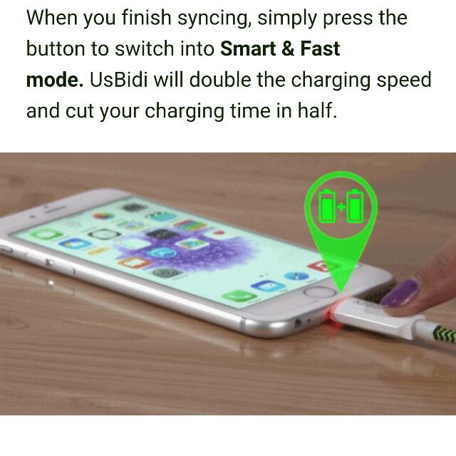 po usbidi 2x the charging power smart charger electronics on