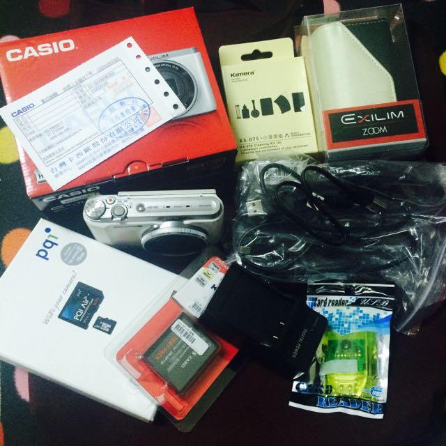 美肌相機CASIO ZR1000贈16G Wifi記憶卡
