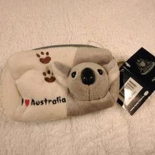 可愛無尾熊零錢包