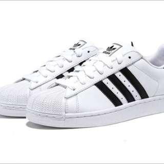 Adidas Superstar II 愛迪達 經典板鞋 黑白 男女鞋款