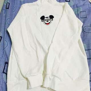 米奇長版衛衣