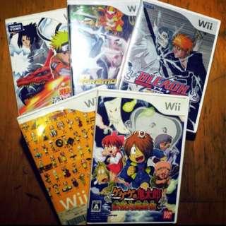 日本帶回中古WII遊戲光碟🎮保證日版光碟🎮