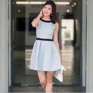 1bdae3435b  Brand New  FMTP Bridget Tweed Dress In Sky (Size S)