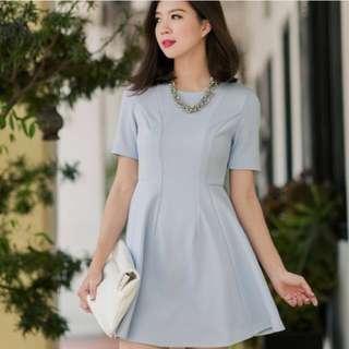 6ec10dfd7d  Brand New  FMTP Molly Swing Dress In Powder Blue (Size S)