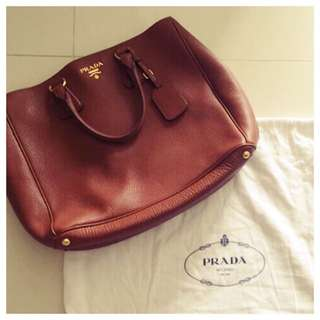 PRELOVED AUTHENTIC PRADA TOTE