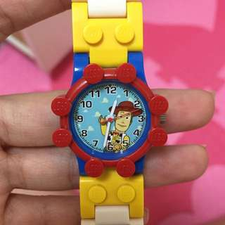 LEGO 樂高 積木 Diy 獨一無二 手錶 胡迪款 全新 只有一個!原廠正品