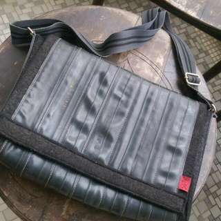Handmade Laptop Bag Made From Inner Tubes